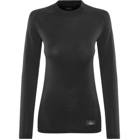 Craft Merino Lightweight Langærmet T-shirt Damer, black